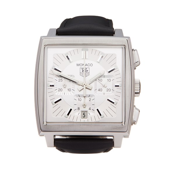 Tag Heuer Monaco Chronograph Stainless Steel - CW2112
