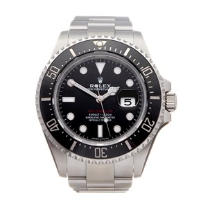 Rolex Sea-Dweller 50th Anniversary Red Text Stainless Steel - 126600