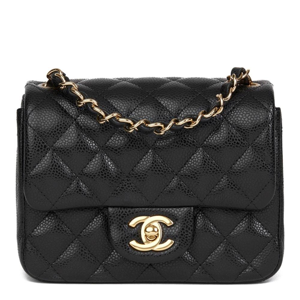 17390e60171d4b Chanel Mini Flap Bag 2017 HB2724 | Second Hand Handbags | Xupes
