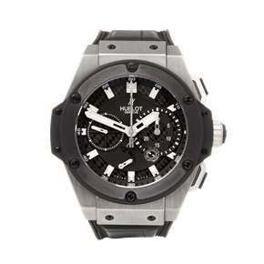 Hublot King Power Zirconium Split Second Chronograph Titanium - 709.ZM.1770.RX