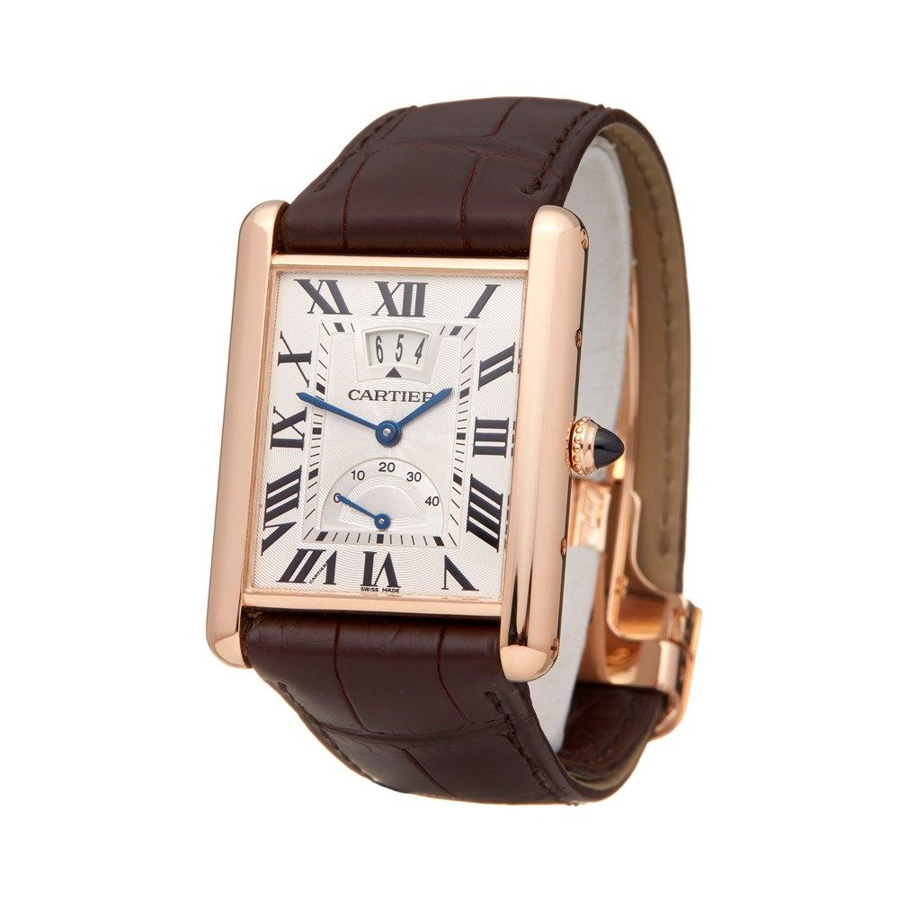 Cartier Tank Louis Cartier Big Date Lc Xl 18k Rose Gold W1560003 or 3185
