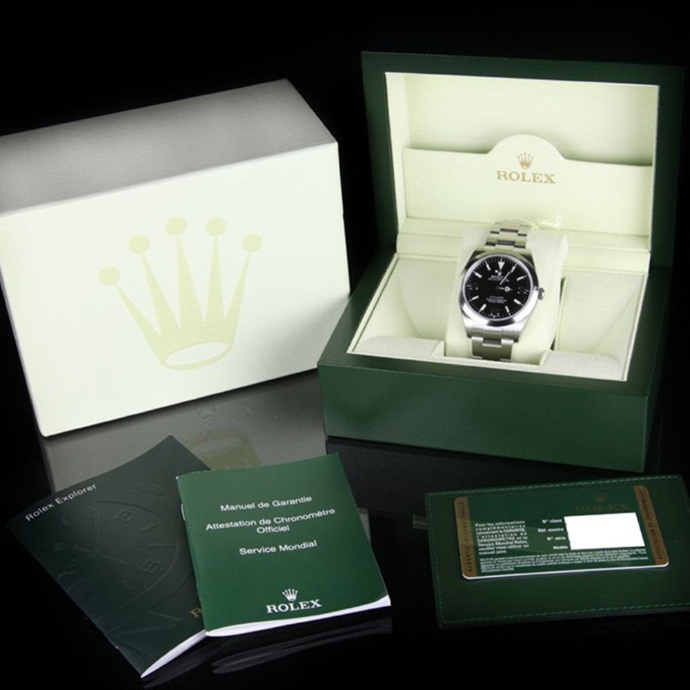 Rolex Explorer Stainless Steel 214270