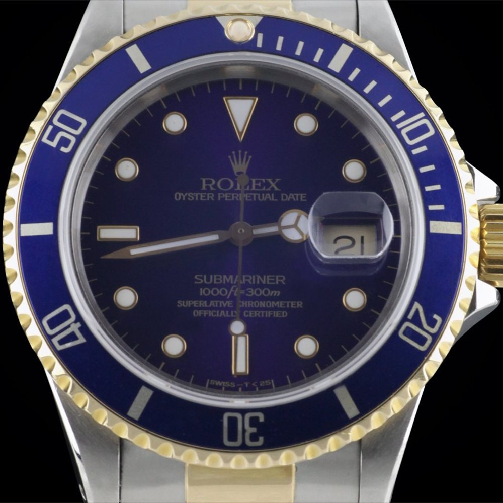 Rolex Submariner Stainless Steel/18K Yellow Gold 16613