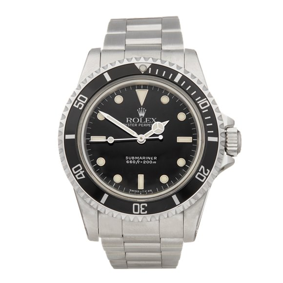 Rolex Submariner Non Date Stainless Steel - 5513