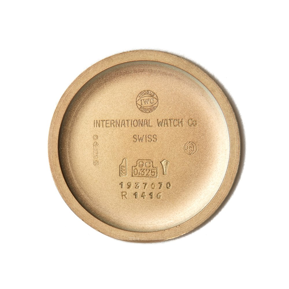 IWC Vintage 18k Yellow Gold R1416 / C.422