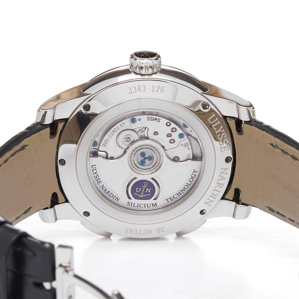 Ulysse Nardin Dual Time Dual Time Stainless Steel 3343-126