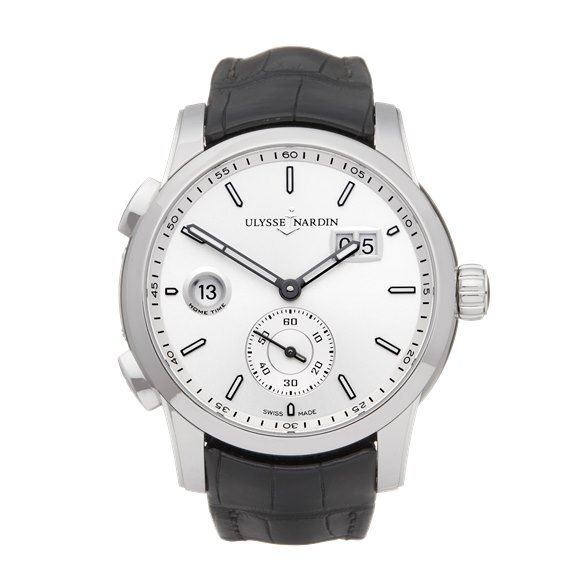 Ulysse Nardin Dual Time Dual Time Stainless Steel - 3343-126
