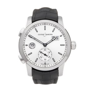 Ulysse Nardin Dual Time Stainless Steel - 3343-126