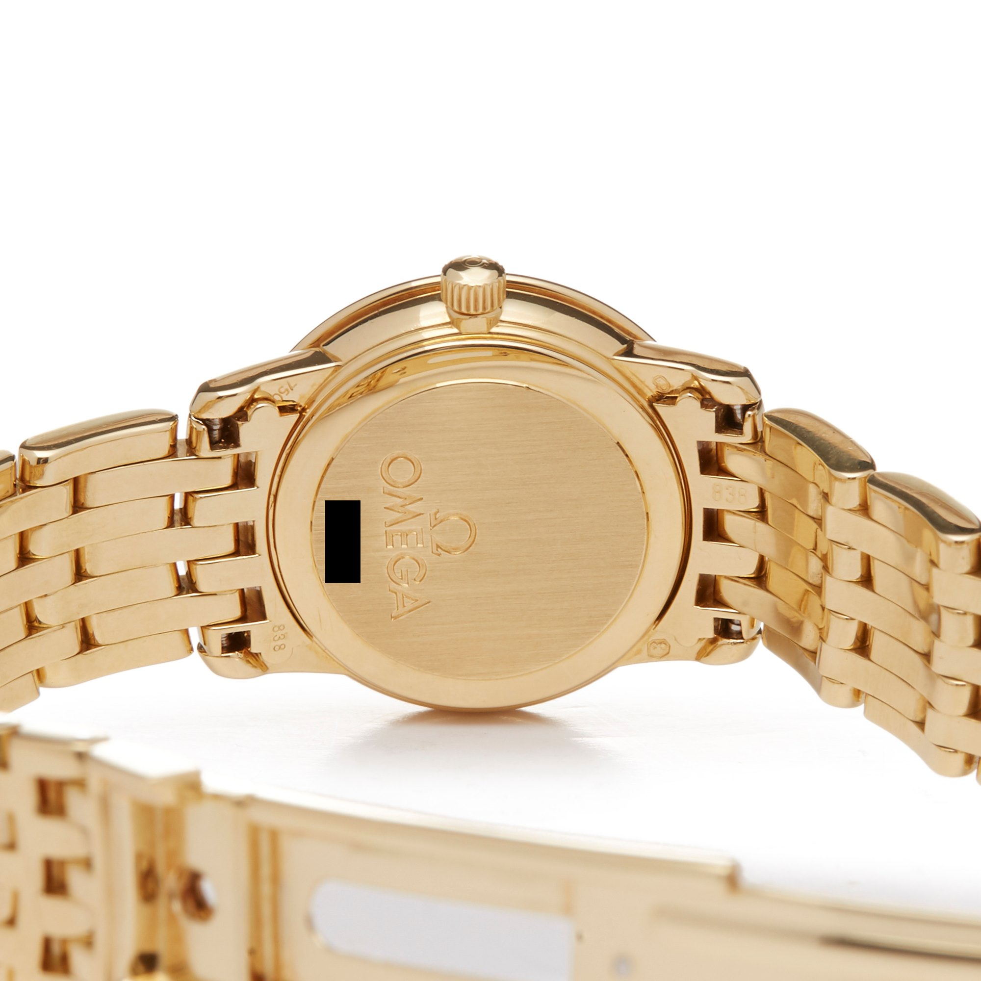 Omega De Ville Prestige Diamond Yellow Gold 417.57.100