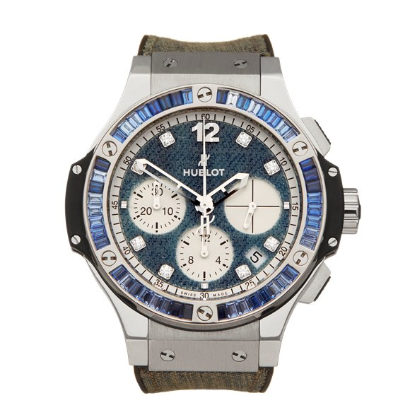 Hublot Big Bang Jeans Limited Edition Stainless Steel - 341.SX.2710.NR