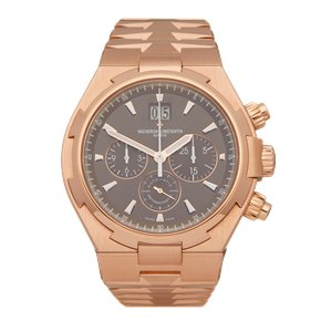 Vacheron Constantin Overseas Big Date Chronograph 18K Rose Gold - 49150/B01R-9338