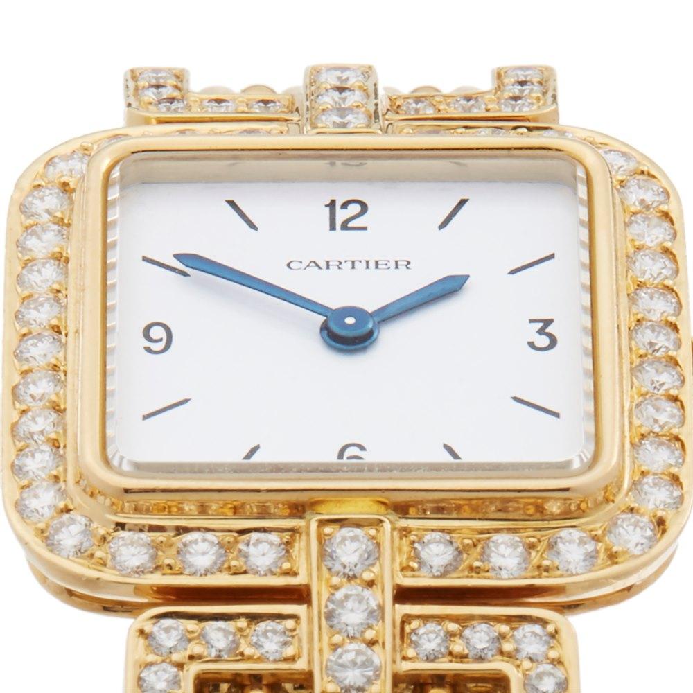 Cartier Sonate Paris Diamond 18k Yellow Gold 8914000 or 8035