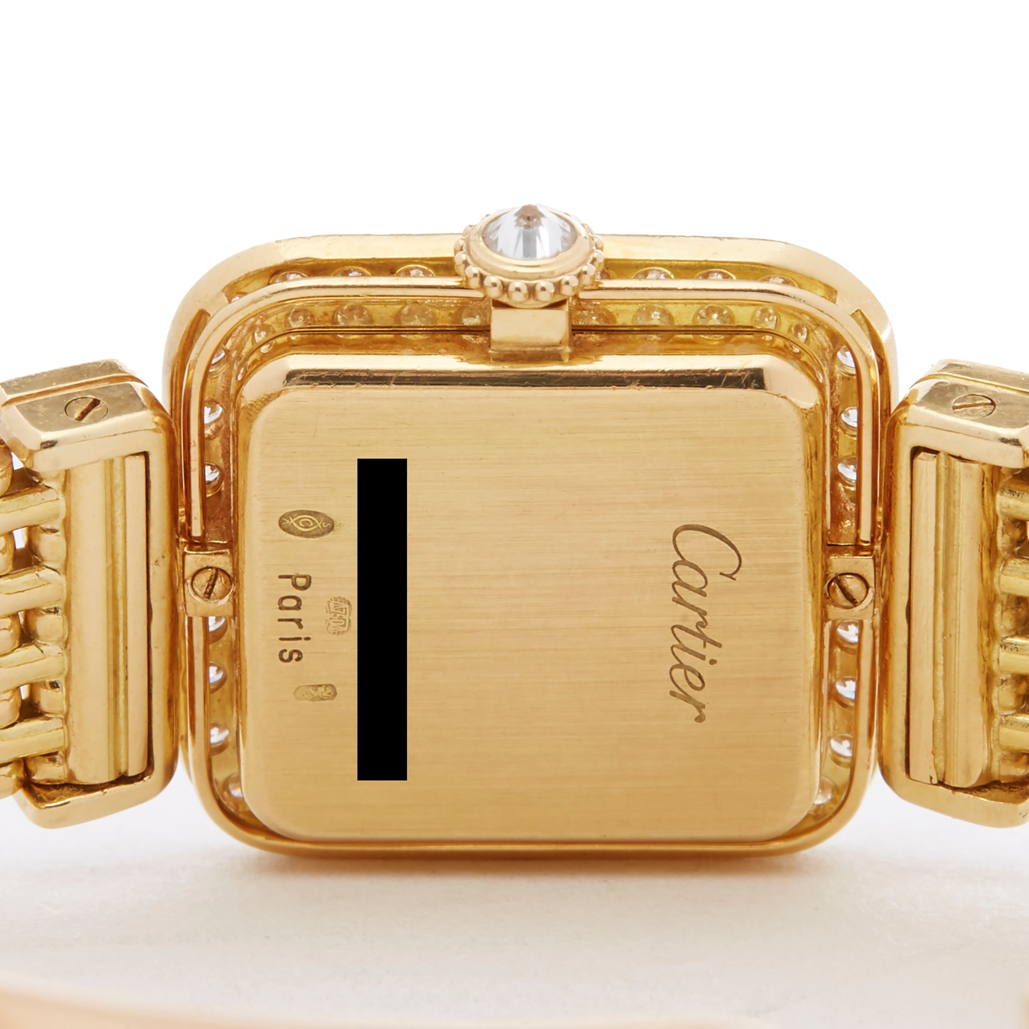 Cartier Sonate Paris Diamond Yellow Gold - 8914000 or 8035 Yellow Gold 8914000 or 8035