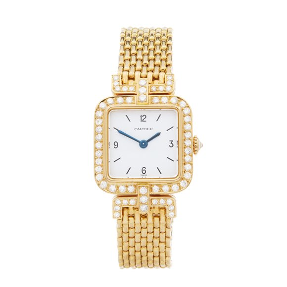 Cartier Sonate Paris Diamond Yellow Gold - 8914000 or 8035