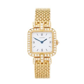 Cartier Sonate Paris Diamond 18k Yellow Gold - 8914000 or 8035