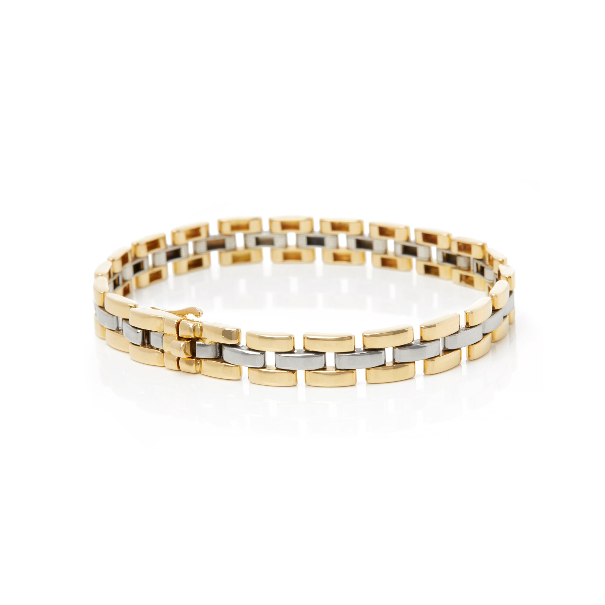 Cartier 18k Yellow & White Gold Maillon Panthère Bracelet