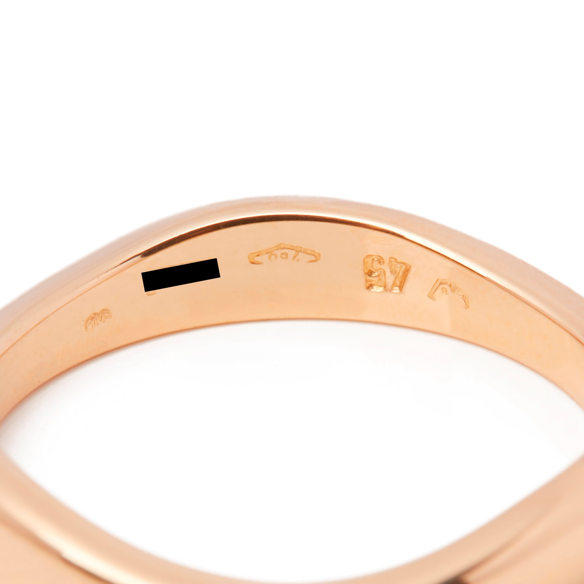 Cartier 18k Yellow, White & Rose Gold Stackable Rings