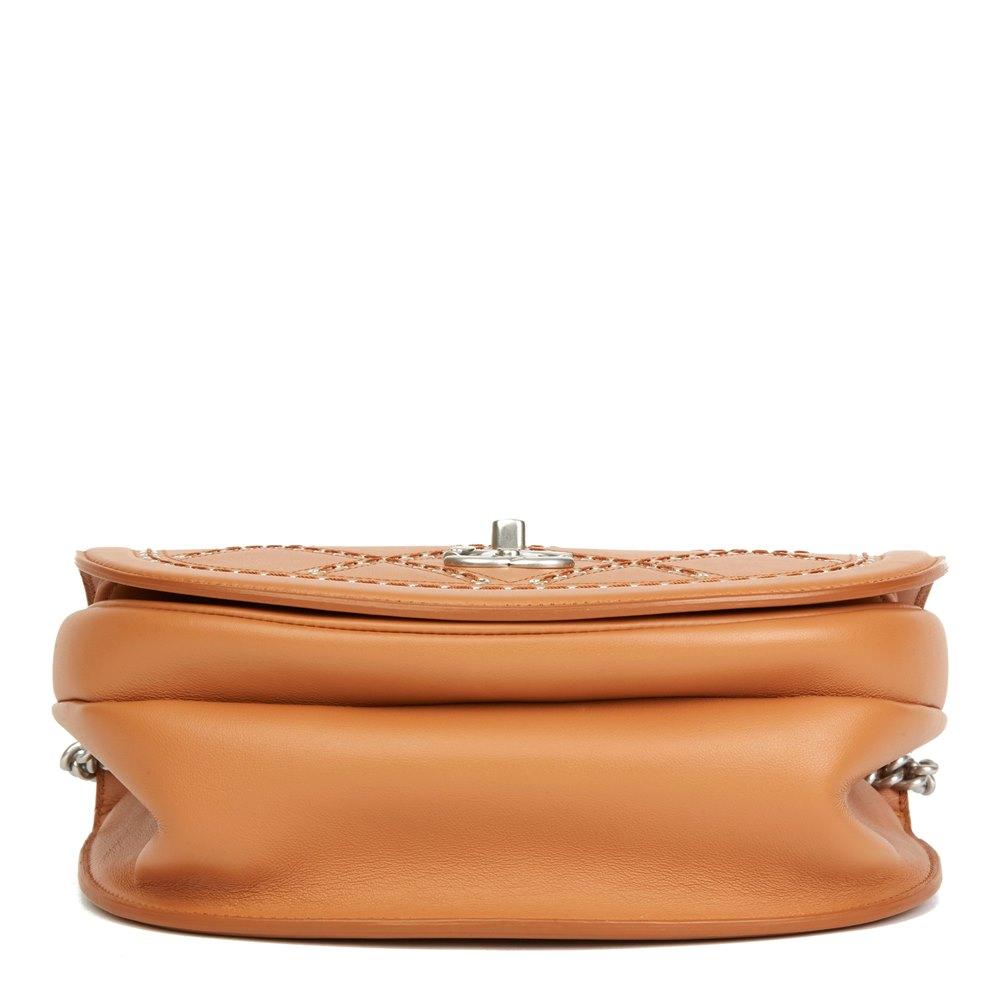 979dfa4cb628 Chanel Coco Eyelets Round Flap Bag 2018 HB2762 | Second Hand Handbags