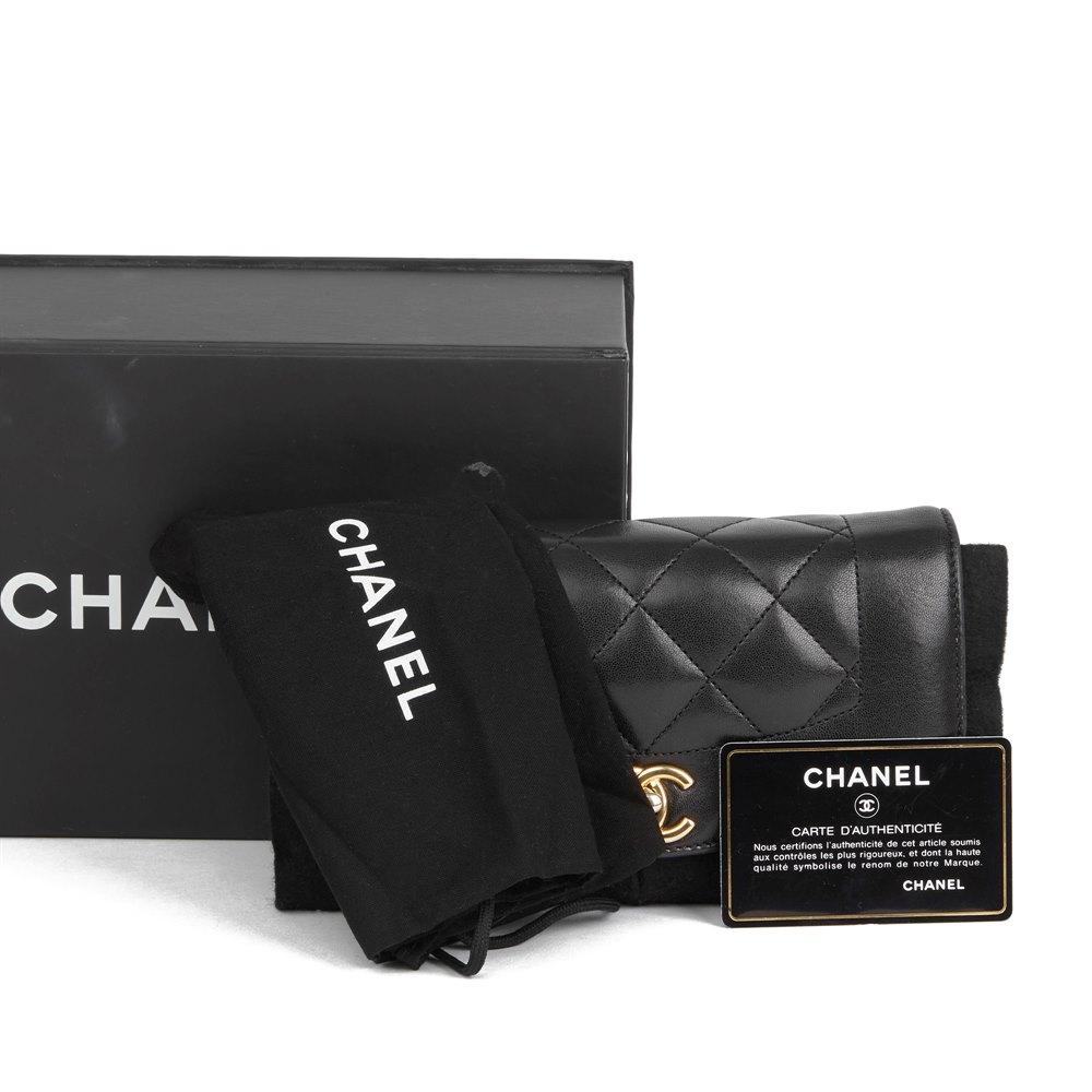 90d0960ea3b65d Chanel Black Quilted Lambskin Mini Reissue Diana Classic Single Flap Bag