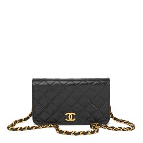 d972e01a404b Chanel. Mini Flap Bag. Age: Circa 1994. £2,199. Chanel Black Quilted  Lambskin Vintage ...