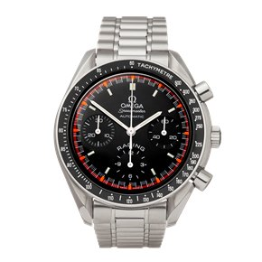 Omega Speedmaster Racing Schumacher Chronograph Stainless Steel - 3518.5