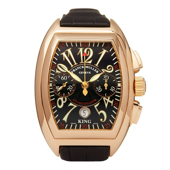 Franck Muller King Conquistador 18k Yellow Gold - 8001 CC