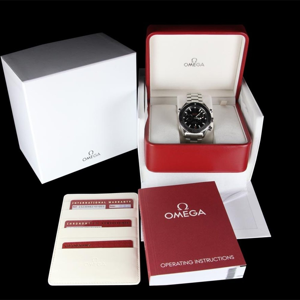 Omega Seamaster Planet Ocean XL Chronograph Stainless Steel 232.30.46.51.01.001