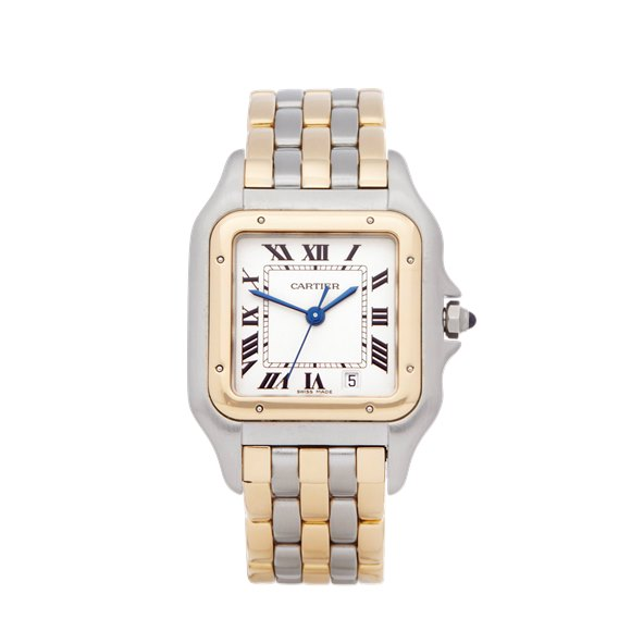 Cartier Panthère Three Row Stainless Steel & Yellow Gold - 1057917