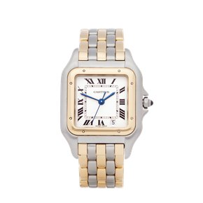 Cartier Panthere Three Row Stainless & Yellow Gold - W25028V6