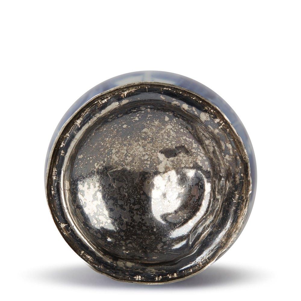 CHINESE KANGXI SILVER MOUNTED WATER SPRINKLER 17/18TH C. Kangxi 1662 - 1722