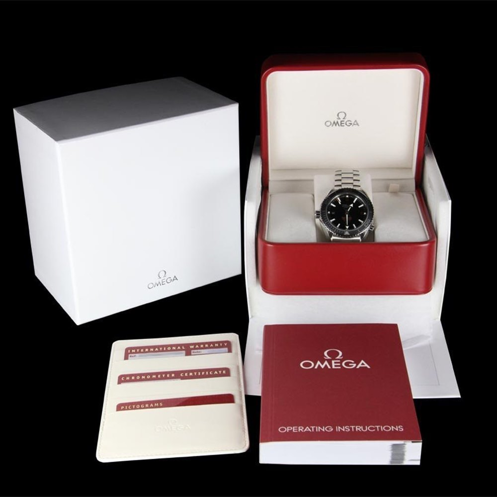 Omega Seamaster Planet Ocean XL Chronograph Stainless Steel 232.30.46.21.01.003
