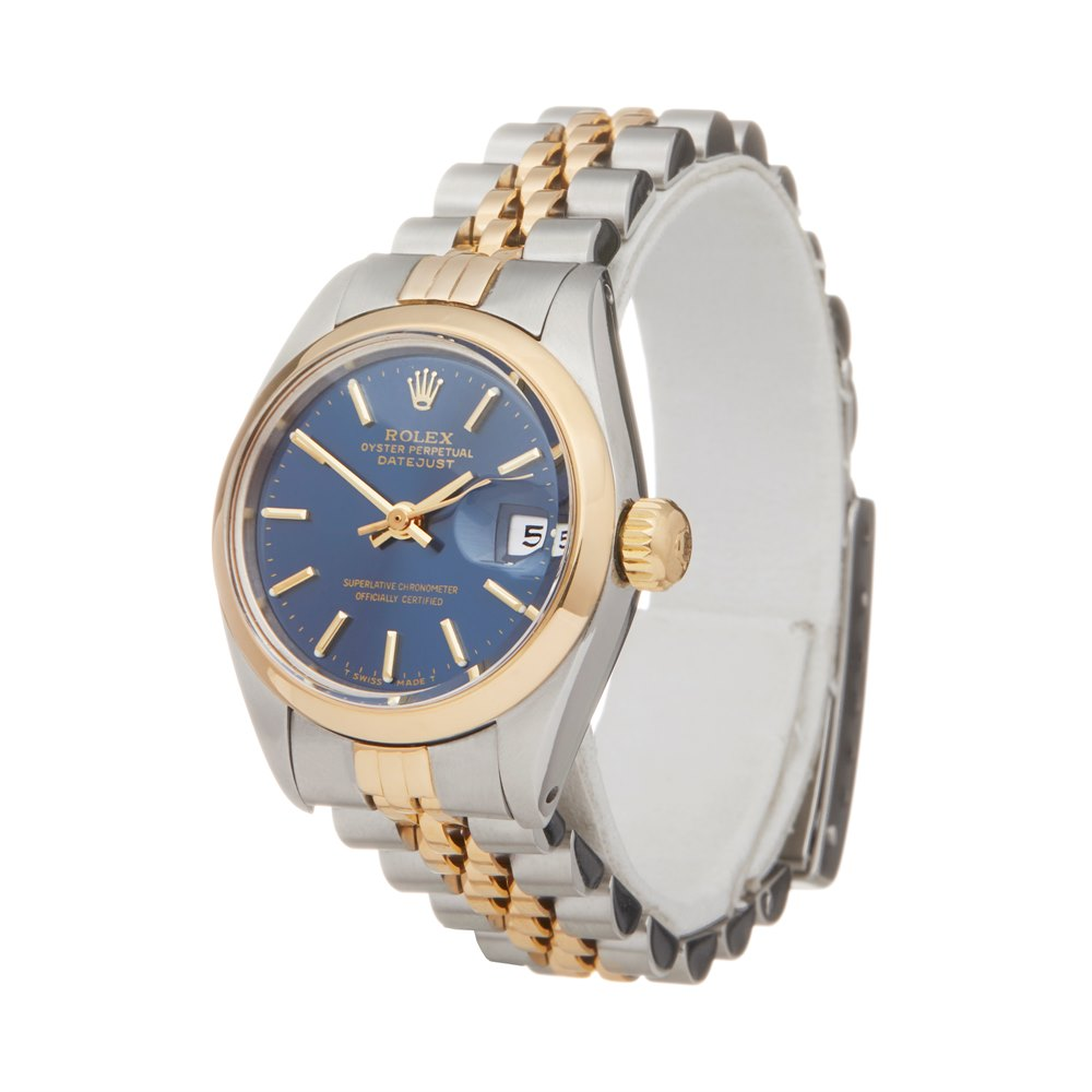 Rolex DateJust 26 Stainless Steel & Yellow Gold 6916