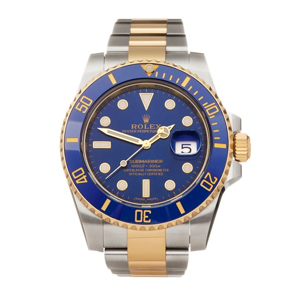 Rolex Submariner Date Stainless Steel & Yellow Gold - 116613LB