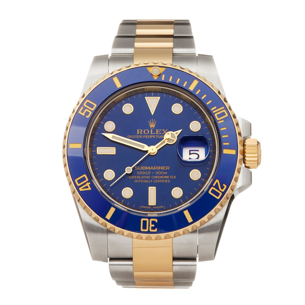 Rolex Submariner Date Stainless Steel & Yellow Gold 116613LB
