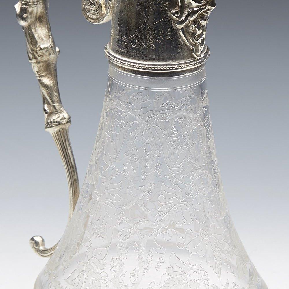 SILVER PLATED JUG c.1900 Circa 1900