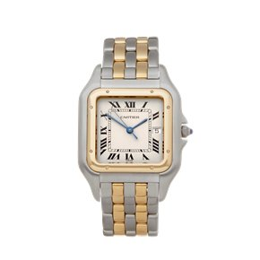 Cartier Panthère Two Row 18K Stainless & Yellow Gold - 187957 or 0194
