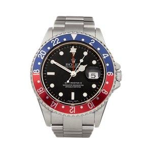 Rolex GMT-Master II Pepsi Stainless Steel - 16710