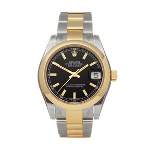 Rolex DateJust 31 18K Stainless Steel & Yellow Gold - 178243