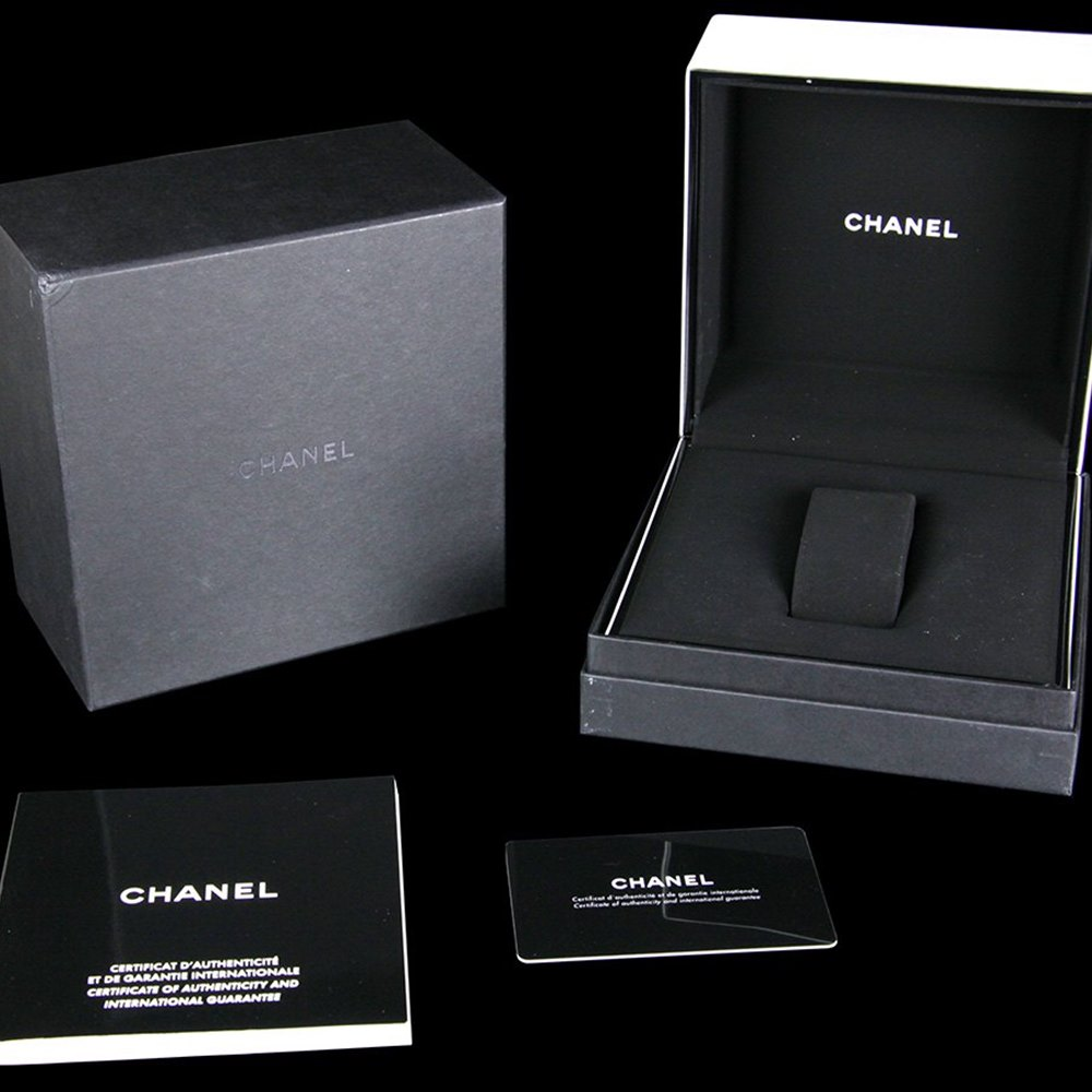 Chanel J12 Black Ceramic/Stainless Steel H1339