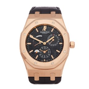 Audemars Piguet Royal Oak Dual Time 18k Rose Gold - 26120OR.00.D002CR.01