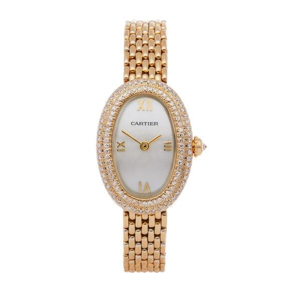 Cartier Baignoire Yellow Gold - 660180119