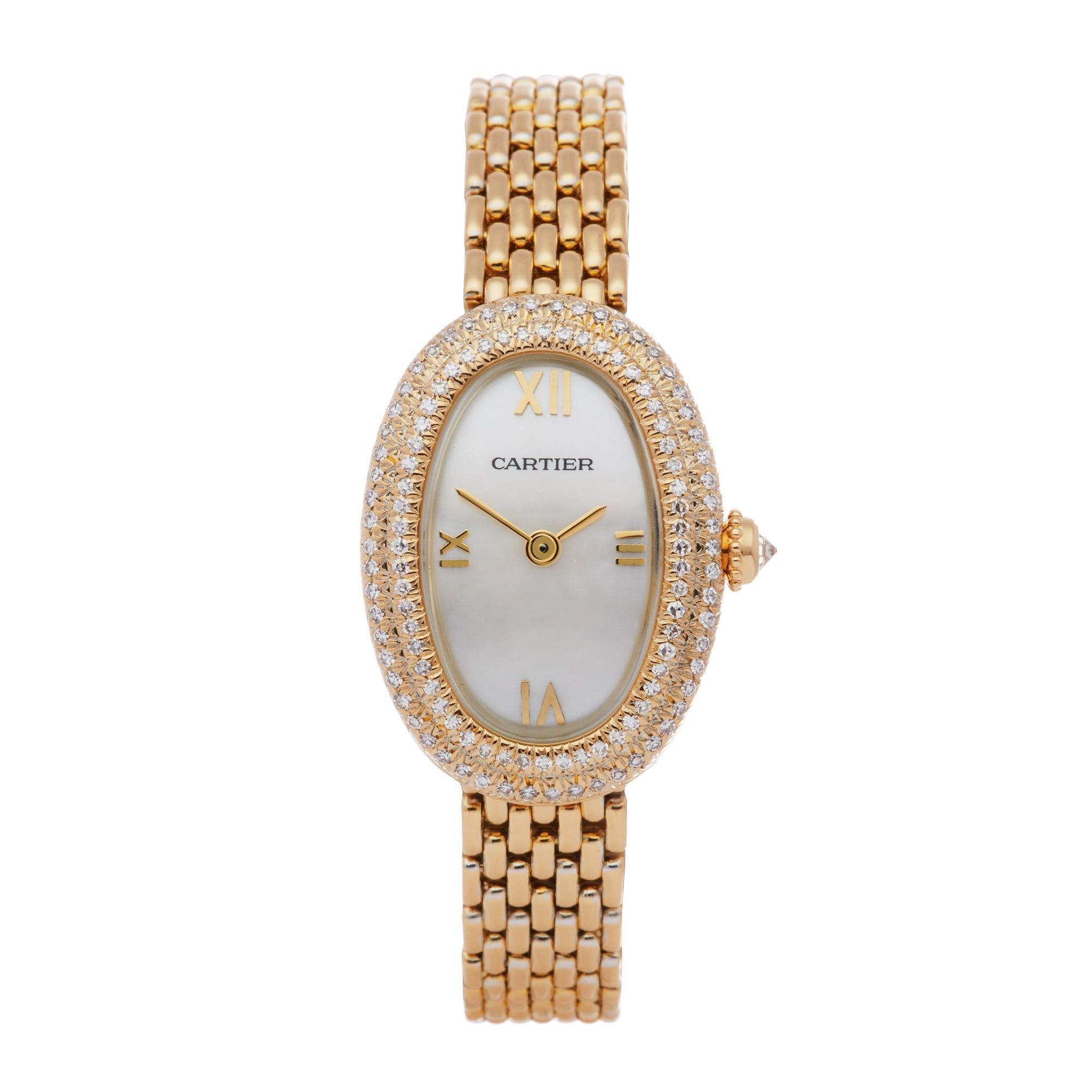 Cartier Baignoire Yellow Gold 660180119