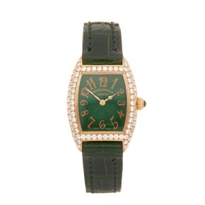 Franck Muller Cintree Curvex 18k Yellow Gold - 2500QZD