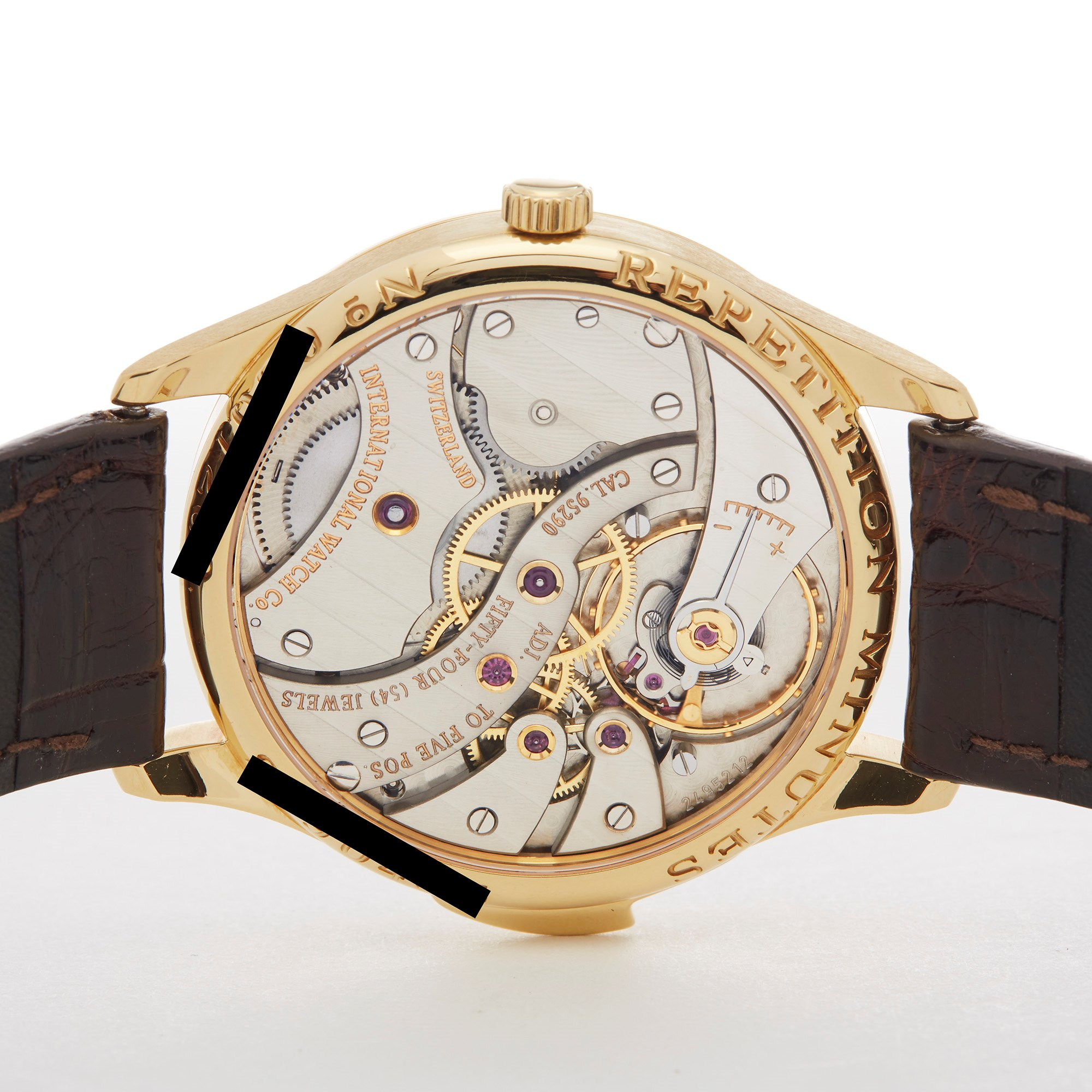 IWC Regulateur Minute Repeater Yellow Gold IW524002