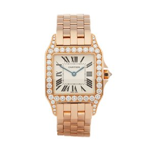Cartier  Demoiselle 18k Rose Goud