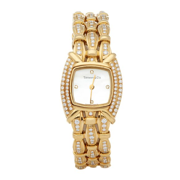 Tiffany tesoro Diamond Yellow Gold - L0133