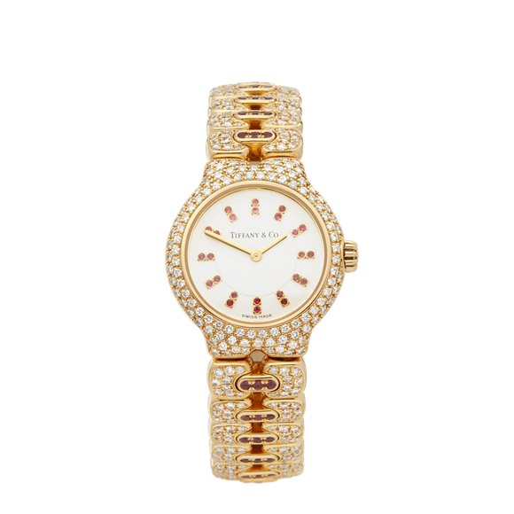 Tiffany Vintage Diamond Yellow Gold