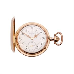 A. Lange & Söhne Pocket Watch Half Hunter Case Yellow Gold - Calibre 43