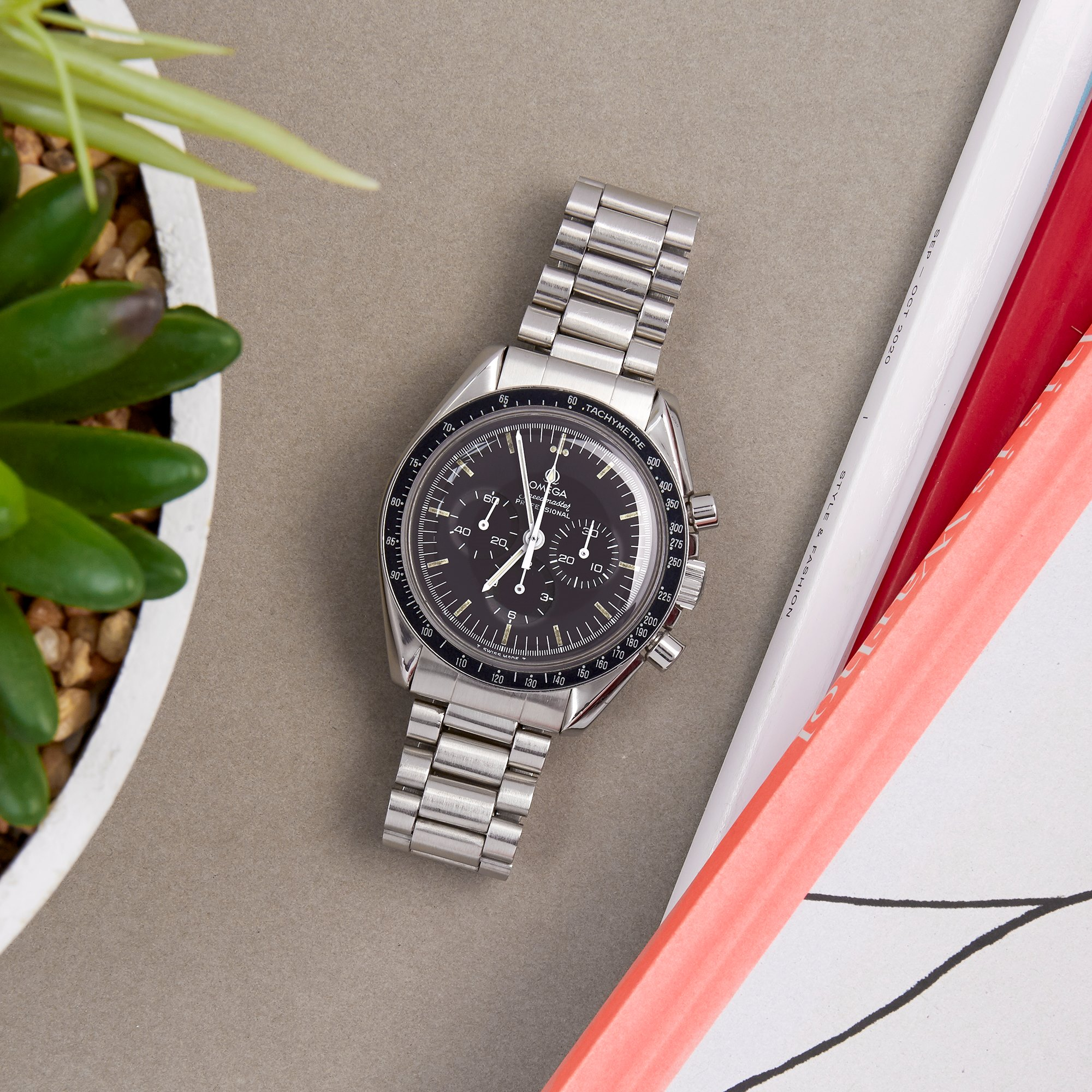 Omega Speedmaster Chronograph Roestvrij Staal 145.022.76ST