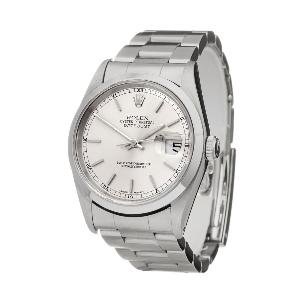Rolex DateJust 36 Stainless Steel 16200